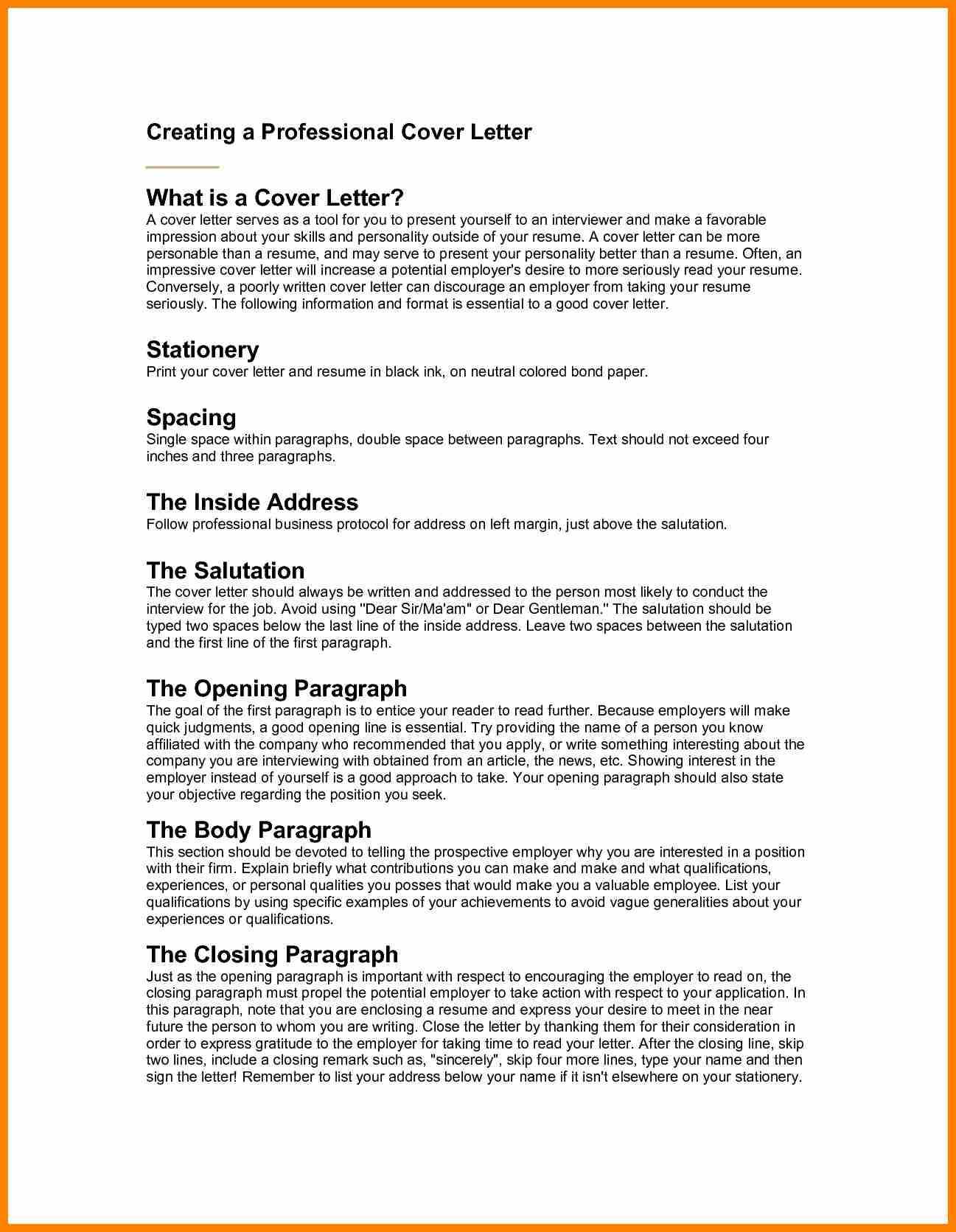 8+ Cover Letter Salutation Samples | Sample Templates
