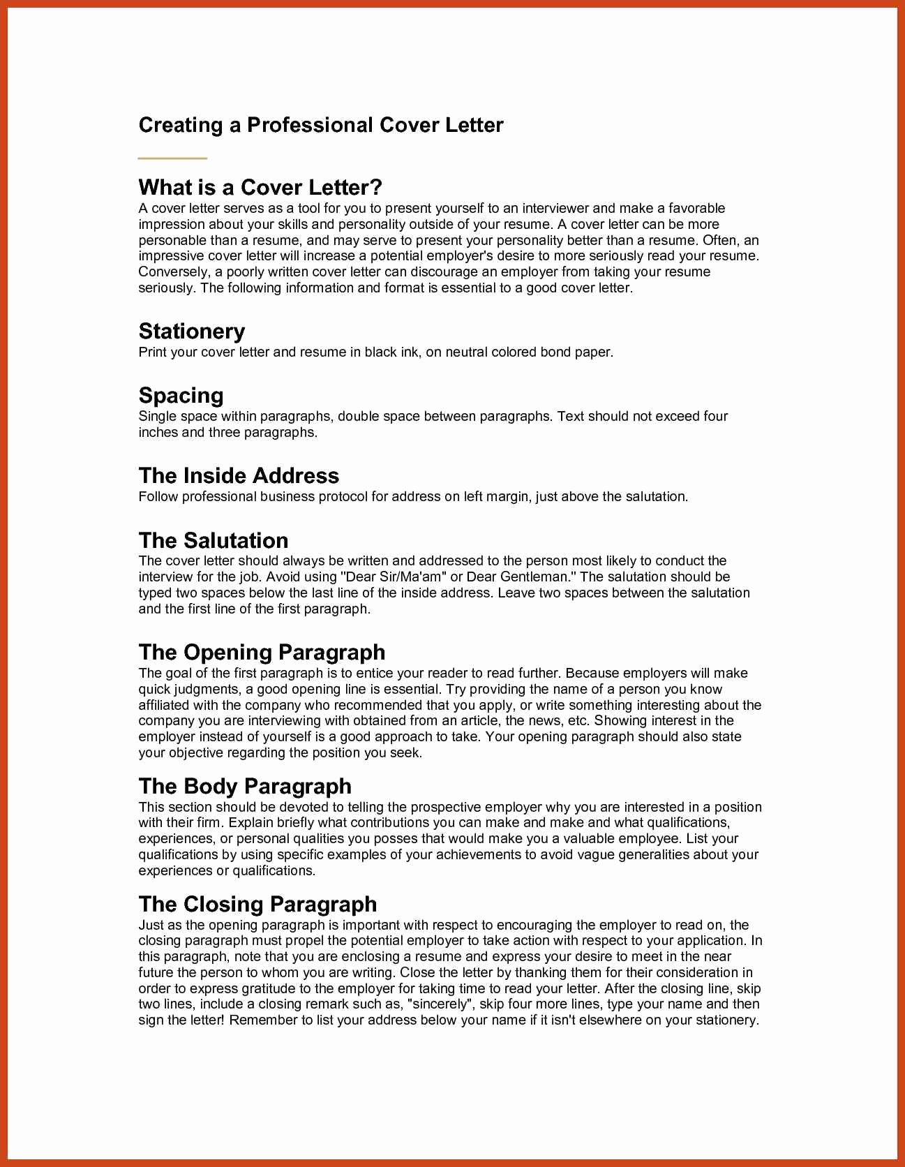 5 Sample Business Letter Salutations | Sample Templates With