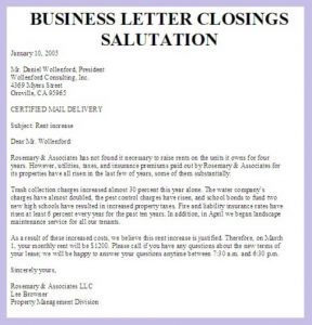 Salutations For A Business Letter Scrumps