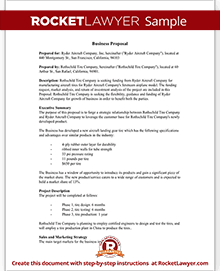 Business Proposal Template | RFP Response Tips | Rocket Lawyer