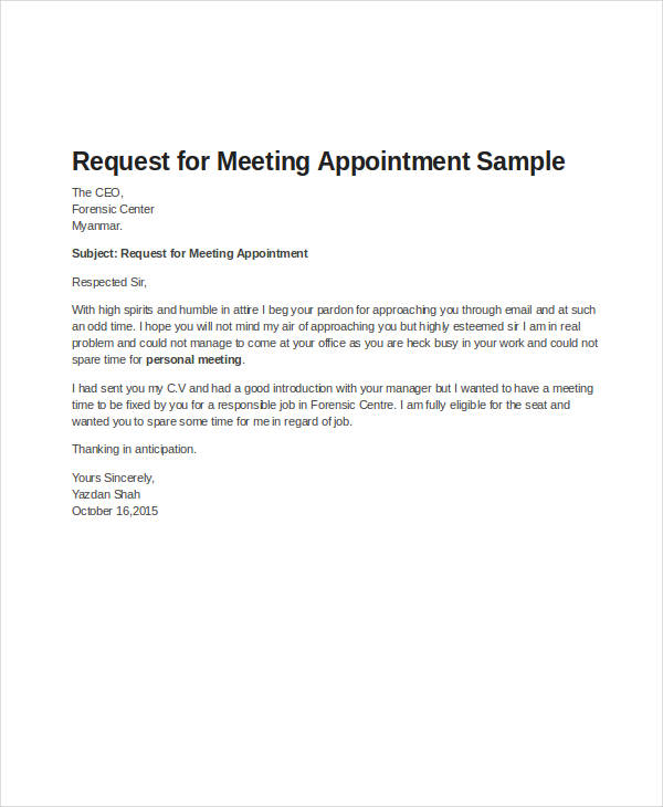49+ Appointment Letter Examples & Samples PDF, DOC