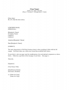 Sample Formal Business Letter Example With Cc on how do you put, format attachment,