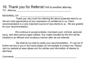 Imgenes de thank you letter for client referral similar posts thank you referral letters referral thank you letter expocarfo Image collections