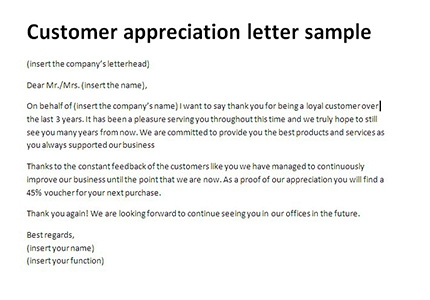 10 Best Of Thank You Letter To Client For Giving Business Pictures