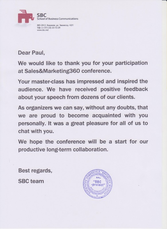 Sales Referral Letter Template on business reverse, word sample, for business, for pa, for employee, developmental pediatrician, free medical, for treatment,