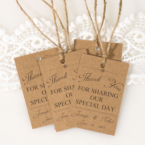 Vintage Themed Wedding Favor Tags Thank You Cards Ewfr025 As Low