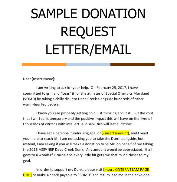 how to write a letter for donations Boat.jeremyeaton.co
