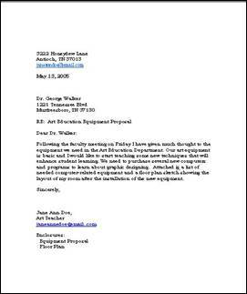 professional business letter examples
