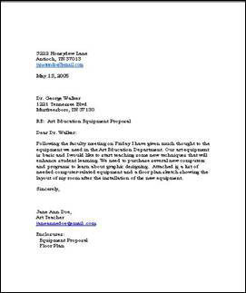 Writing Business Letters | Free Business Template